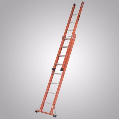 escada abre ou estende - fibra de vidro 3,40 x 5,85 metros
