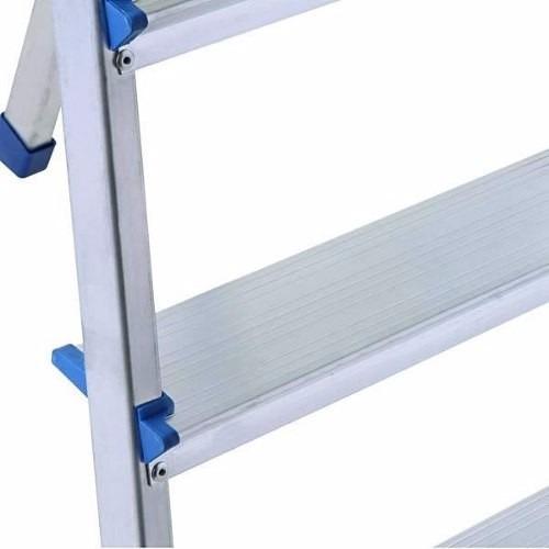 escada alumínio 7 degraus capacidade de 120kg - mor