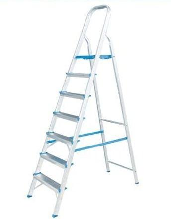 escada aluminio residencial 7 degraus suporta até 120kg