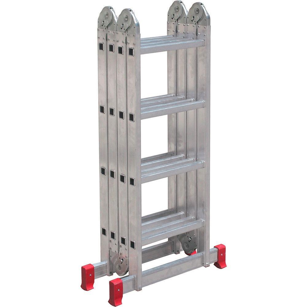 0d9268a79e Escada Articulada 4x4 16 Degraus Botafogo - R  475