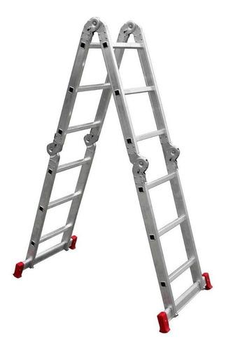 escada articulada aluminio 12x1 4x3 deg. botafogo