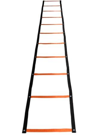 escada de agilidade 11 degra 6 chinês 6 cones 1 corda 1 roda
