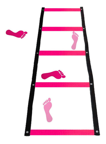 escada de agilidade 5 degraus coordenação motora