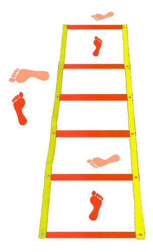 escada de agilidade 6 degraus coordenação motora aproveite