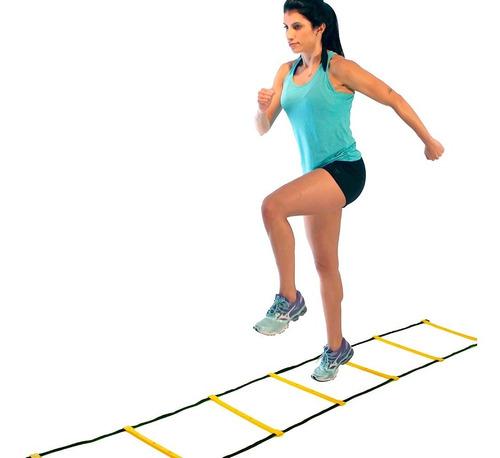escada de agilidade acte sports 8 degraus 4 metros