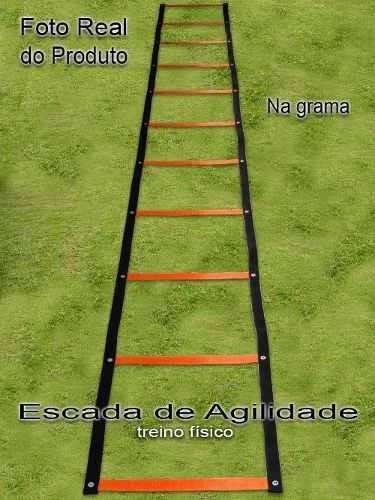 escada de agilidade motora coordenação = amarelinha .