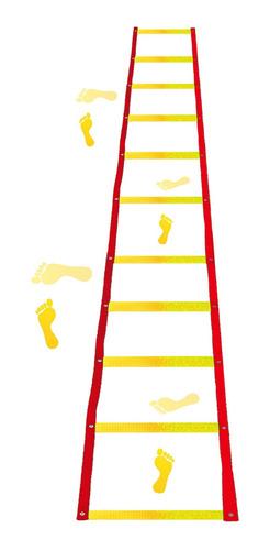 escada de agilidade motora coordenação = amarelinha 2 unids