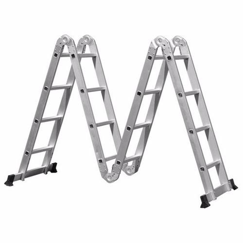 escada de alumínio articulada 16 degraus 4x4 mor (8863)