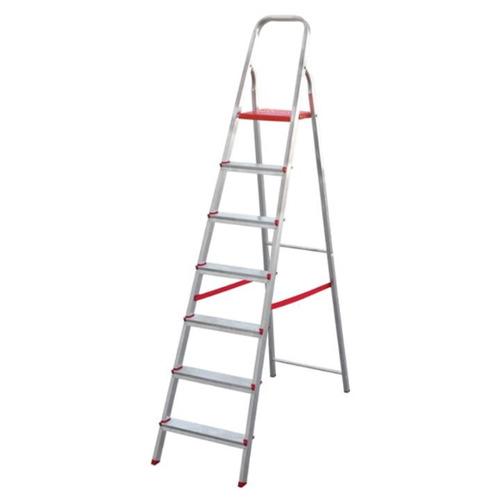 escada de alumínio doméstica 7 degraus botafogo