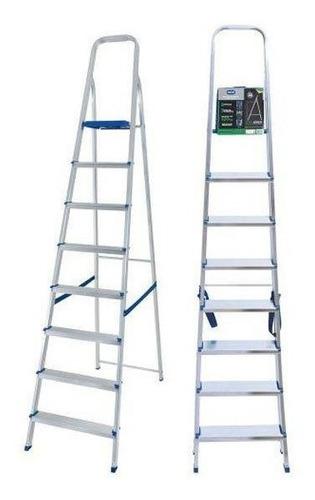escada de alumínio mor, 8 degraus - 5106