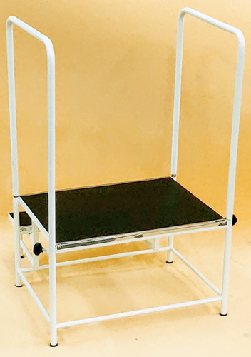 escada doppler com 2 degraus plataforma 65x50 cm