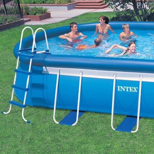escada dupla 122 cm bestway p piscina infl vel e