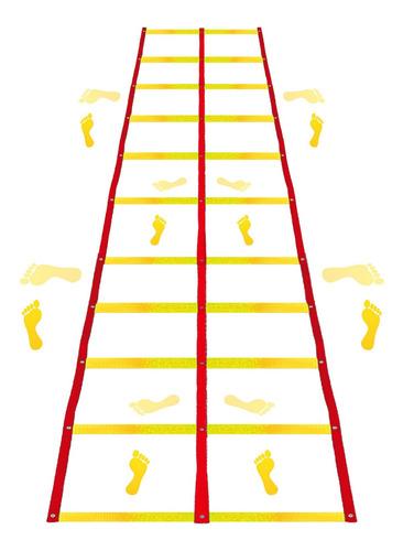 escada dupla de agilidade / circuito 11 degraus coordenação