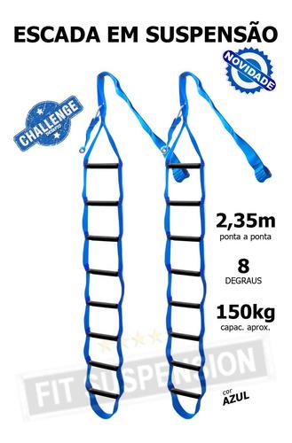 escada em suspensão fit suspension treino de força novidade