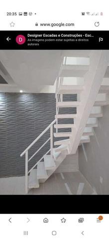 escada espinha de peixe designer