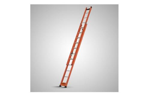 escada extensível 7,20 mt fibra eletricia telefonia