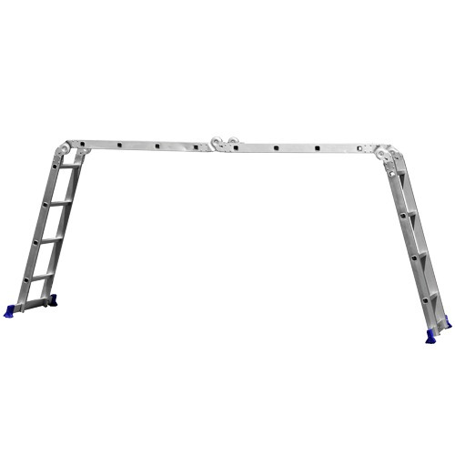 escada multifuncional 4x4 em alumínio 16 degraus