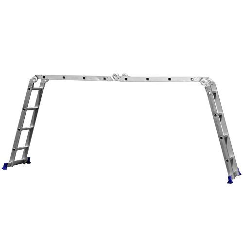 escada multifuncional 4x4 em alumínio até 150kg