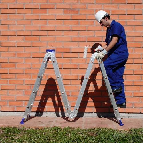 escada multifuncional mor 4x4 16 degraus com plataforma