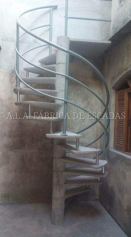 Escada Pré-moldada Caracol Concreto A Partir De R$ 999,99 - R$ 999 ...
