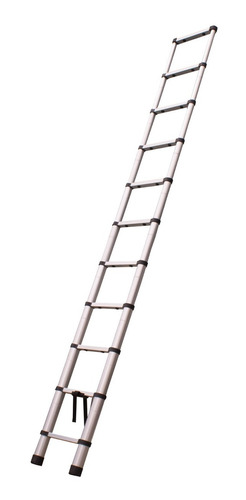 escada telescópica alumínio  3,2 m 10 degraus  - temt32m