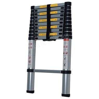 escada telescópica alumínio worker 7 degraus 2,00m promoção