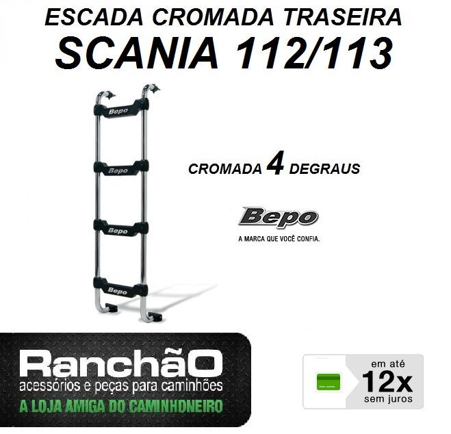 a9be7cc508 Escada Traseira Caminhão Scania 112 113 Mb 1935 1941 Cr 44 - R  199 ...