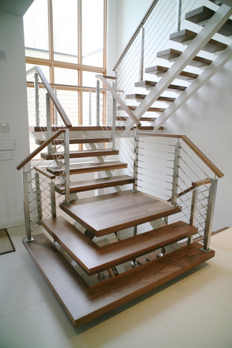 escadas corrimão e guarda-corpos