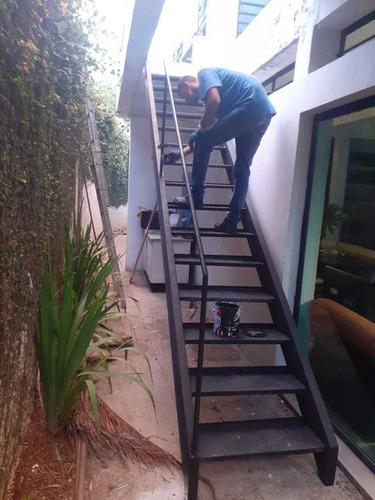 escadas, mezaninos, reforco, coberturas metalicas