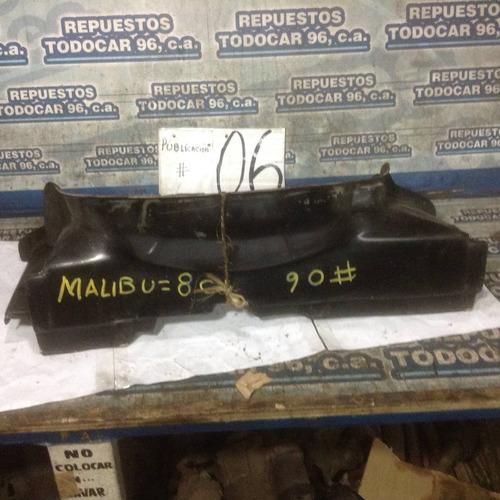 escafandra,colector de aire gm  malibu 80/84 8 cil en fibra