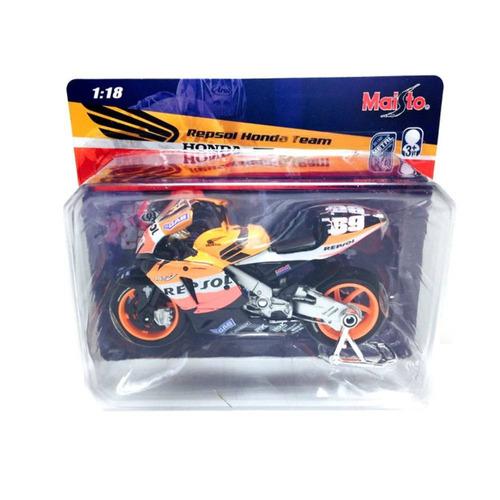 escala 1:18 motos