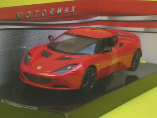 8cbe29482e6f Lotus Evora S Escala 1 24 Motor Max Rojo -   1.460