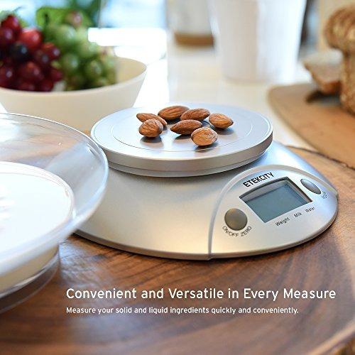 escala de alimentos digitales etekcity y báscula de cocina m