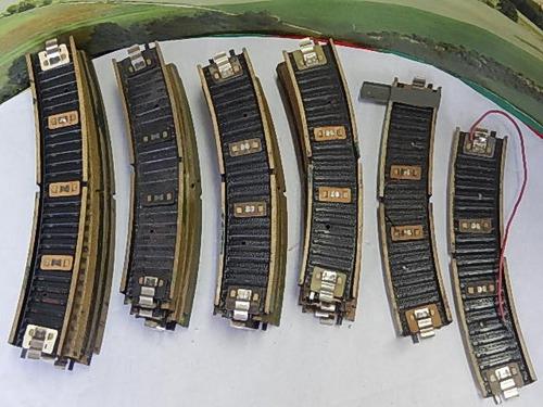 escala ho marklin 25 trilhos curvos   c/altern. jorgetrens