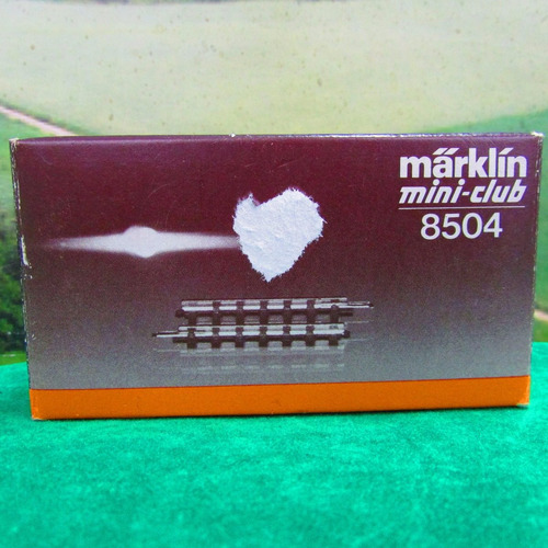 escala z marklin mini club 10 trilhos retos 8504 jorgetrens