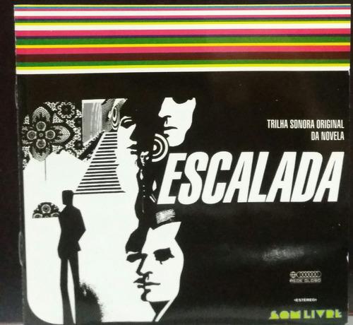 escalada - trilha sonora original da novela (cd novo)