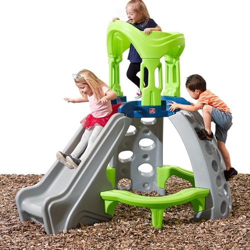 escalador juego jardin step2