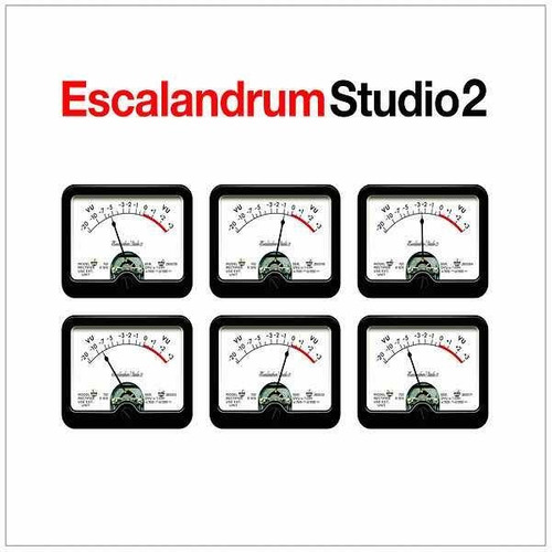 escalandrum studio 2 cd nuevo 2018 pipi piazzolla