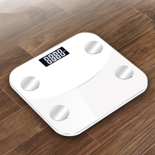 escalas de grasa corporal sy05 teléfono bluetooth blanco
