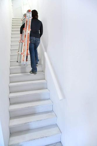 escalera alta one 17 iaa aluminio little giant 14013 + envio