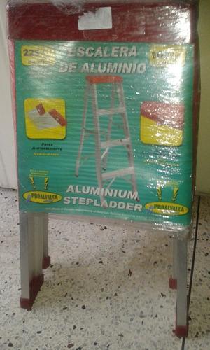 escalera aluminio 2 tramo tipo tijera precio 25 verde$$s