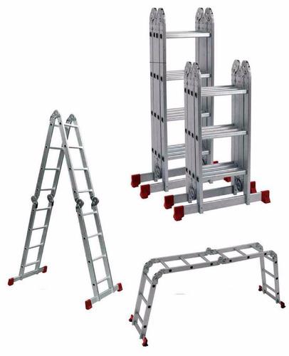 Escalera aluminio articulada 4 50 mts oferta barraca for Escalera aluminio plegable articulada precio