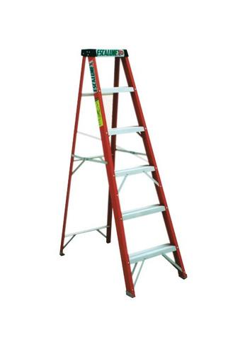 escalera aluminio escalumex 5 peldaños 1.83 mts stl-6tipoiii