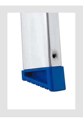 escalera aluminio plegable banqueta 65 cm alto 3 escalones