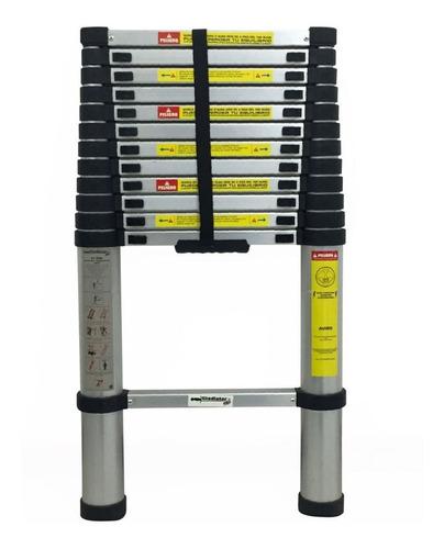 escalera aluminio telescopica 1 hoja 4 mt gladiator - ynter