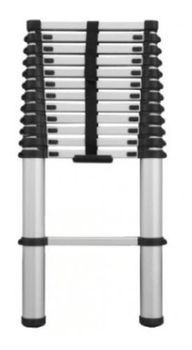 escalera aluminio telescopica multiuso 10 escalones 3.20mts