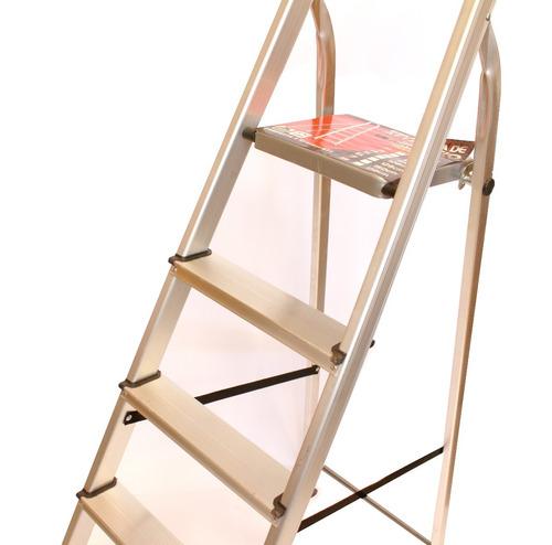 escalera aluminio tijera familiar 6 escalones