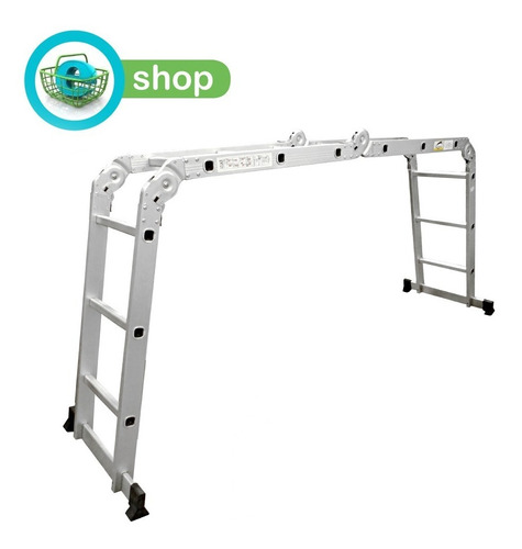 escalera andamio multifuncion aluminio 12 es panther pal103
