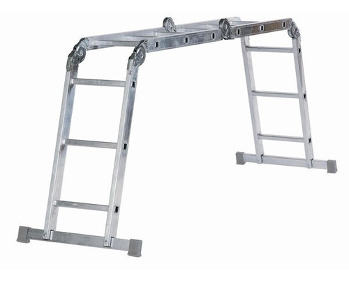 escalera articulada 12 peldaños proramp 4x3 150kg