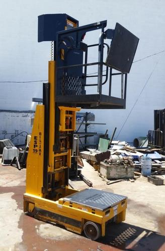 escalera canastilla elevador electrico bil jax esp19 110v